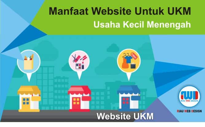 manfaat website untuk UKM riau