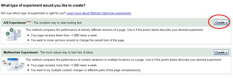 Google Website Optimezer3