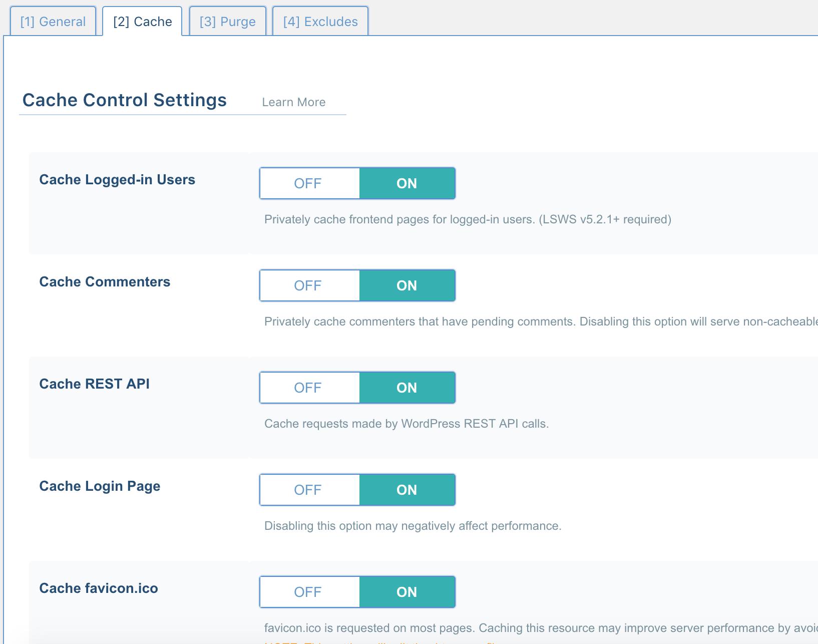 litespedd konfigurasi15 - Panduan Lengkap Setting LiteSpeed WordPress Cache
