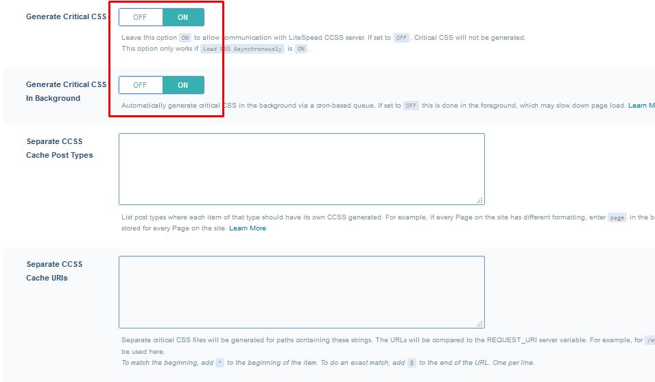 litespedd konfigurasi19 - Panduan Lengkap Setting LiteSpeed WordPress Cache